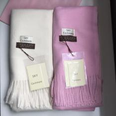 khăn sky cashmer