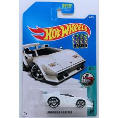Ô tô mô hình tỉ lệ 1:64 Hot Wheels Countach 54/365 ( Màu Trắng )