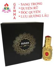 Nước hoa tinh dầu mùi GEMMA cho nữ( full hộp) – mẫu RUBY VIP 12ml