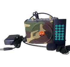 Loa trợ giảng bẫy chim E-898 điều khiển xa 1000m màu bộ đội BH 6 tháng đổi mới