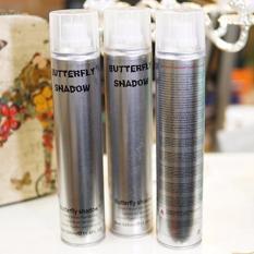 Gôm xịt tóc tạo kiểu tự nhiên Butterfly Shadow Hair Spray 320ml – Hàng nhập khẩu