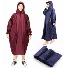 Áo mưa kín người vải dù siêu bền
