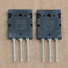 Combo 2 cặp sò Transistor công suất amply C5200 + A1984