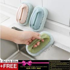 Bàn chải cọ rửa có tay cầm tiện ích + Tặng Kèm thẻ tích điểm Verygood
