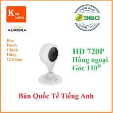 Camera IP Qihoo 360 Plus HD 720P hồng ngoại – Bản Quốc Tế