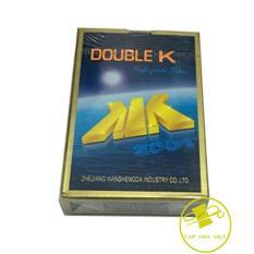 Combo 3 bộ bài tây, tú lơ lơ, bài doueble K (Xanh)