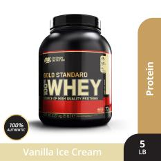 Thực phẩm bổ sung Optimum NutritionGold Standard 100% Whey Vanilla Ice Cream5 lbs