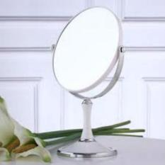 Gương trang điểm 2 mặt xoay 360 độ