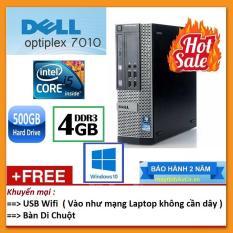 Thùng Dell optiplex 7010 ( Core i5 2400 / 4G / 500G ), Tặng USB Wifi , Bàn di chuột – Bảo hành 24 tháng – Hàng Nhập Khẩu