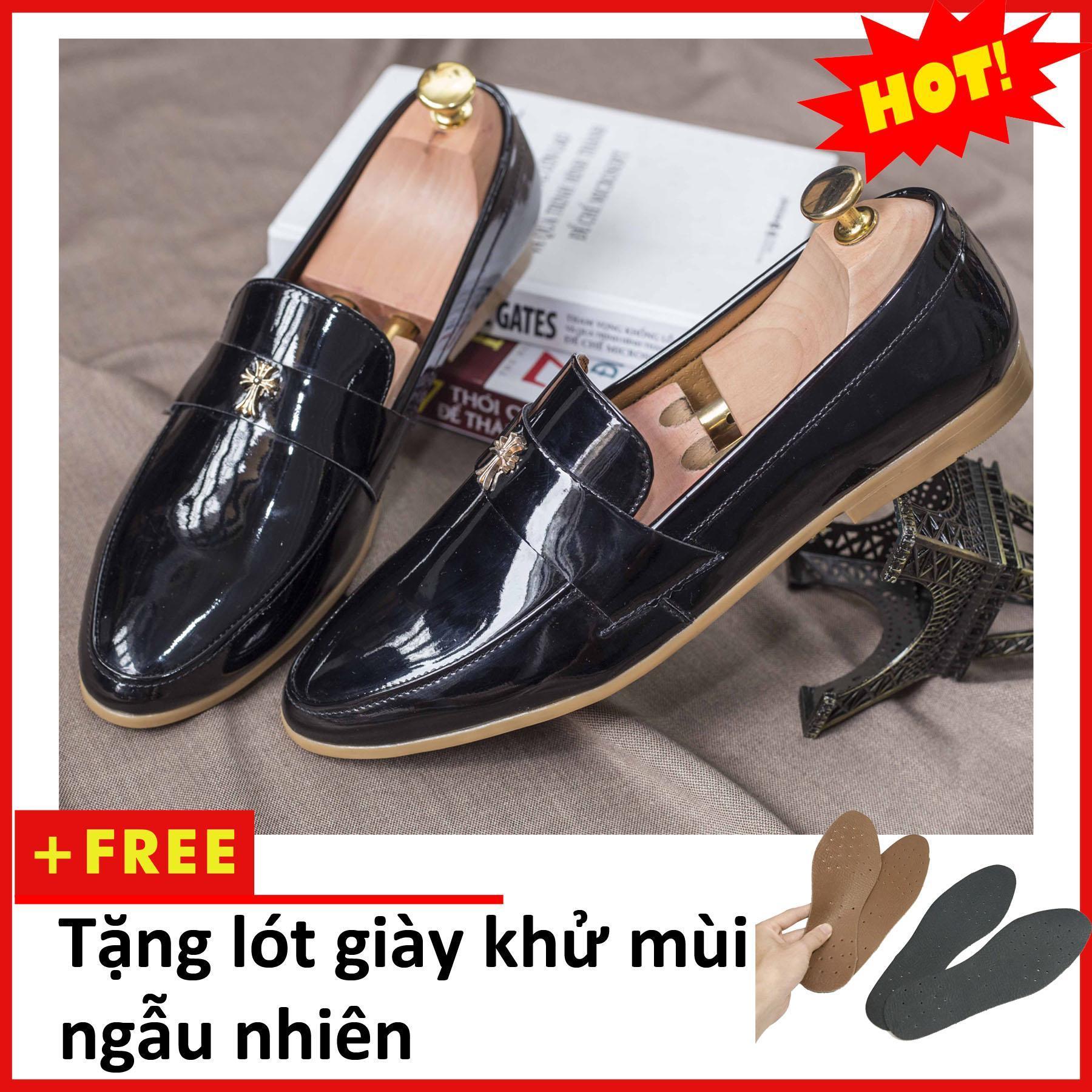 Giày Lười Nam – Giày Nam – Giày nam đẹp – Giày da nam – shop giày nam – giày nam công sở – M95L