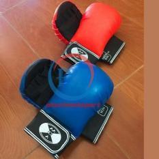 Găng tay tập võ Karate (xanh)