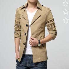 Áo Khoác Nam kaki Măng tô thời trang hàn quốc