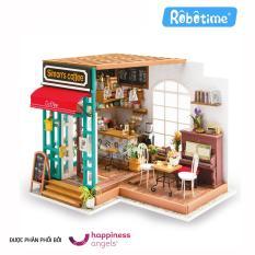 Mô hình gỗ Robotime Quán Café của Simon DG109