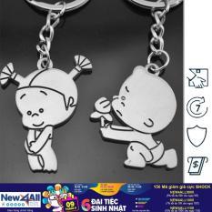 Móc khóa cặp tình nhân I Love You Ogiare – Keychain Keyring Gift