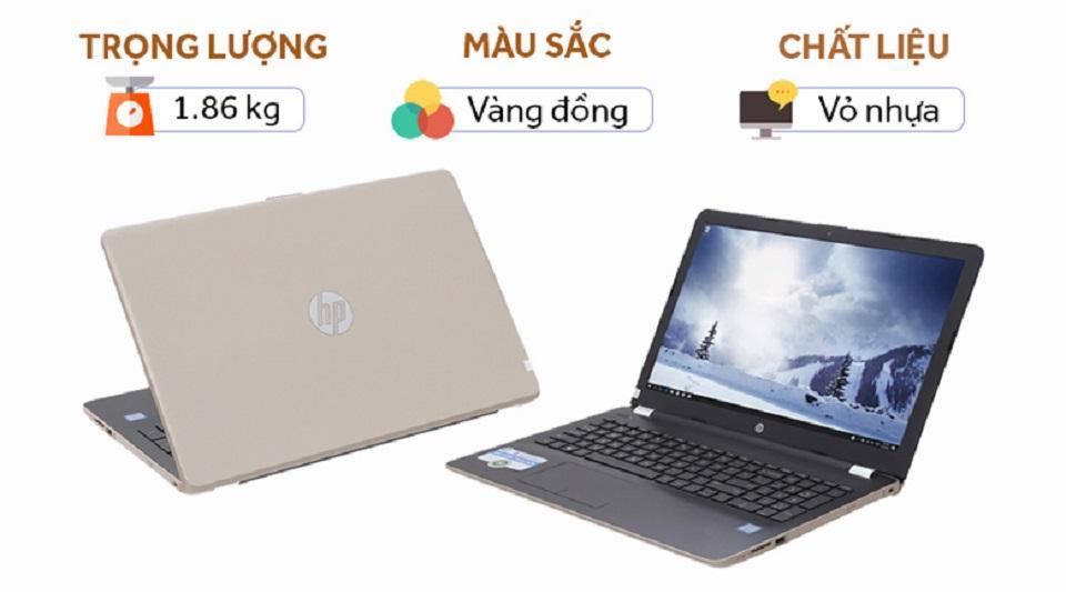 Laptop HP 15 bs161TU i5 8250U/4GB/1TB/Win10 full box zin all good 100% chất lượng cao hàng nhập