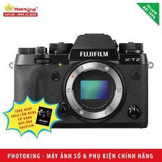 Máy ảnh FujiFilm X-T2 Body (Black) + Tặng kèm Sách Cẩm nang sử dụng máy ảnh FujiFilm – Hàng nhập khẩu mới 100%