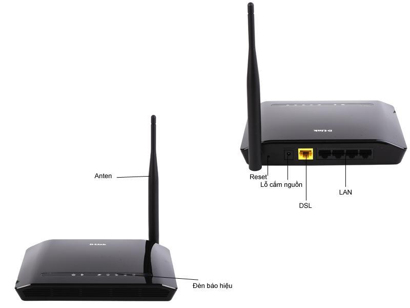 Mua Bộ phát sóng wifi D-Link DIR-600M (Đen) ở đâu tốt?