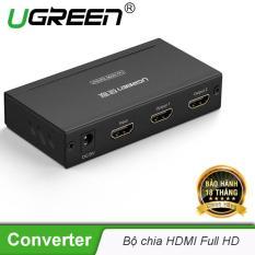 Bộ chia cổng HDMI 1 cổng ra 2 cổng Hỗ trợ full HD UGREEN 40201 – Hãng phân phối chính thức