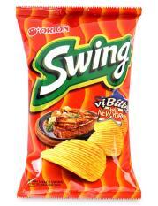 Snack Swing Vị Bò Bittet Kiểu New York Orion Gói 90G