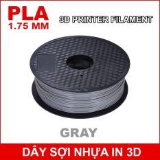 Dây sợi nhựa PLA in 3D 1.75mm 1Kg Gray