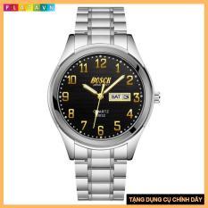 Đồng hồ thời trang nam mẫu mới nhất BOSCK 3033 có lịch ngày lịch thứ + TẶNG QUÀ