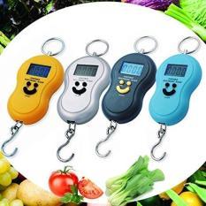 Cân Điện Tử Cầm Tay Du Lịch Portable Mini 50Kg – Đen, Cam, Xanh