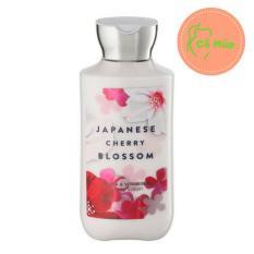 Sữa Dưỡng Thể Lotion Bath And Body Works Japanese Cherry Blossom – Hàng Xách Tay Từ Mỹ – Hương Hoa (236ml)