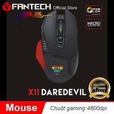 Chuột Game 8 nút LED 16.8 triệu màu 8000dpi FANTECH – X11 DAREDEVIL- Hãng Phân Phối Chính Thức