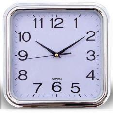 Đồng hồ treo tường hình vuông kích thước 29x29cm (trắng) – (BQ300-TRANG)
