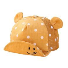 Mũ Nón Cotton Tai Gấu Cực Đáng Yêu Cho Bé