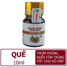 Tinh dầu nguyên chất 10ml: Sả chanh/Tràm gió/Quế/Oải hương/Bưởi chiết xuất tự nhiên Hoa Nén đuổi muỗi thơm phòng khuếch tán
