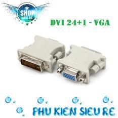 Đầu chuyển đổi từ cổng DVI 24+1 sang cổng VGA trắng