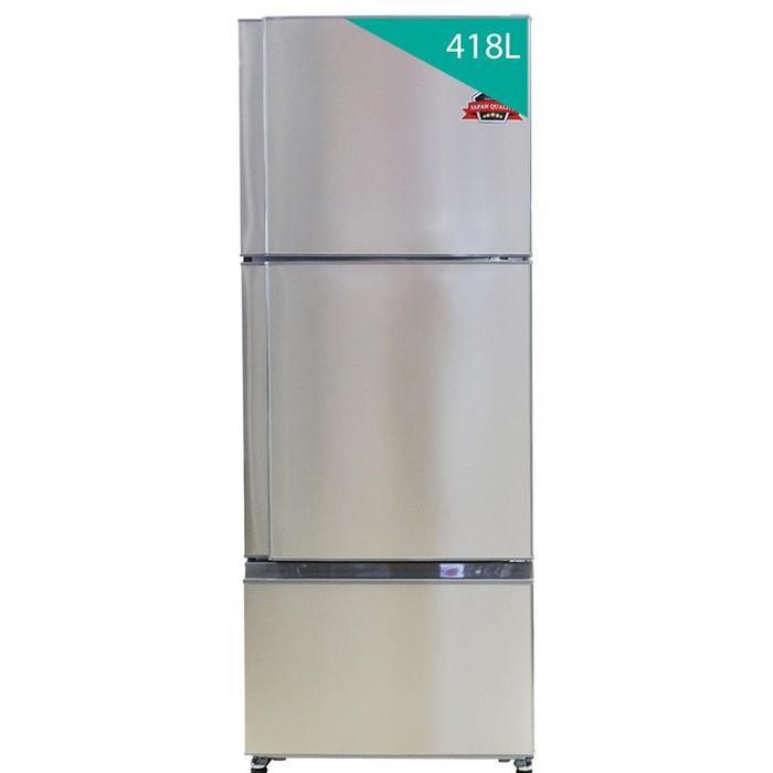 Tủ lạnh 3 cửa Mitsubishi MR-V50EH-ST-V 418L Thép không gỉ