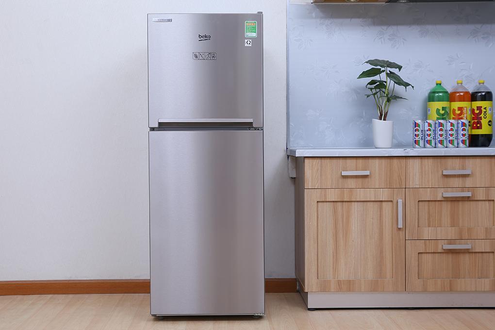 Tủ lạnh Beko RDNT250I30ZP – Thép không rỉ ( Xám)