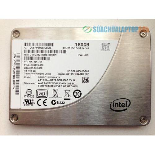 SSD Intel 180gb 520 Series
