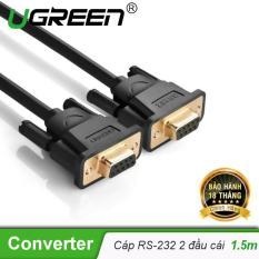 [Khuyến mại] Dây cáp COM RS-232 cái sang cái dài 1.5M UGREEN DB101 20149