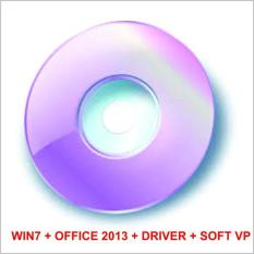 Bộ DVD COMBO WIN 7 ALL + OFFICE 2013 + HIREN BOOT