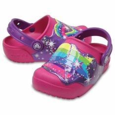 [Premier] Crocs – Giày Bé gái 204823-911 CrocsFunLab Lights Clog K MltStrs – Authorized By Brand