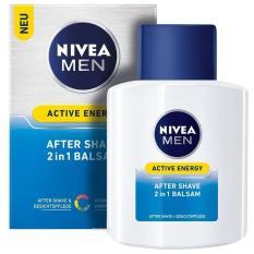 Kem Dưỡng Da và Chống Kích Ứng Sau Cạo Râu Nivea Active Energy After Shave 2in1 Balsam 100 ml