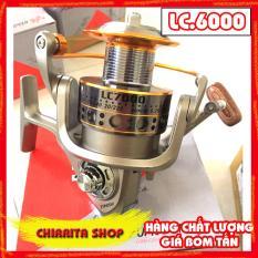Máy câu cá Yumoshi LC 12 bạc đ ạn ĐỦ SIZE 4000, 5000, 6000, 7000 – Chirita Shop