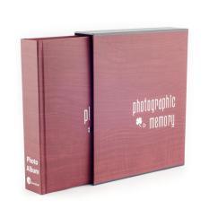 Album ảnh Monestar 13×18/200 hình NTO572-73Rd (Đỏ vân gỗ)