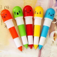 Combo 3 bút bi hình viên thuốc ngộ nghĩnh đáng yêu