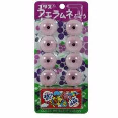 Kẹo Thổi Sáo Vị Nho Vỉ 8 Viên Coris Nhật Bản