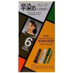 Thuốc nhuộm tóc phủ bạc Seven Eight #06 Dark Brown