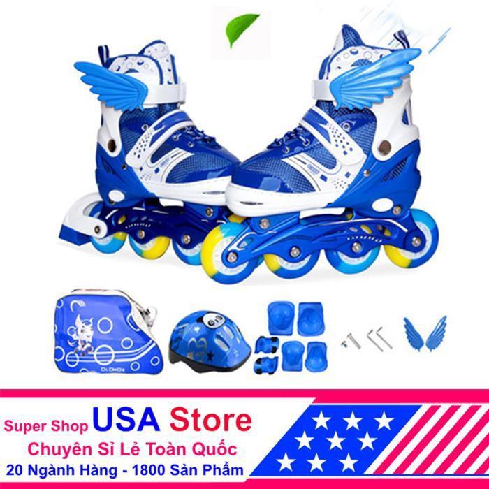 Giày Trượt Patin F1 Cánh Thiên Thần Đủ Bộ ACN1040 ( Chọn Màu Và Size)