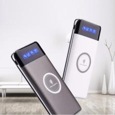 Sạc không dây chuẩn Qi MẪU MỚI 20000 mAh cho Iphone 8,X, Samsung Note8 + tặng thêm chip sạc không dây androi