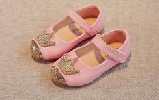 Giày búp bê nữ hoàng bé gái
