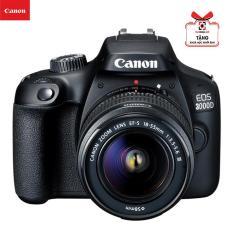 Máy ảnh Canon EOS 3000D Kèm Lens Kit EF-S 18-55 III Chính hãng Canon LBM(Tặng túi + thẻ 16Gb)