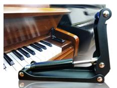 Chống sập nắp đàn Piano, Piano slowdown device