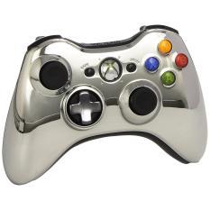Giá Khuyến Mại Tay cầm chơi game Xbox 360 không dây (Bạc)